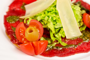 Carpaccio dressing maken